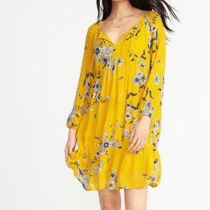 Old Navy Boho Style Floral Print Dress Size L